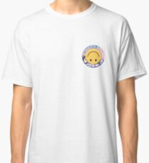 Camiseta clásica falso feliz