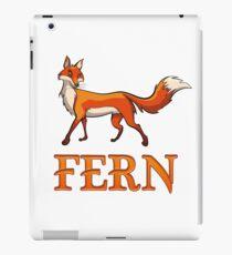 Fern Fox iPad-Hülle & Klebefolie