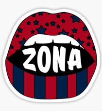 Zona Lips Sticker