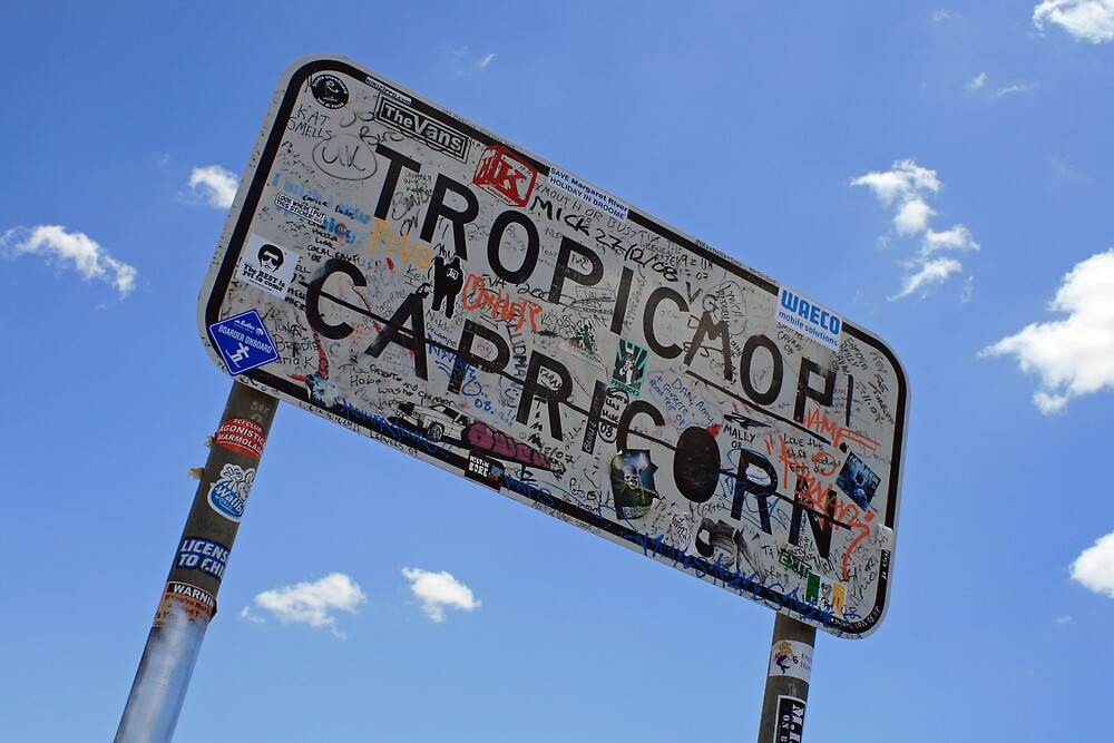 Tropic of Capricorn, Pilbara WA by Leigh Penfold