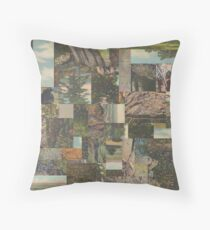 Tree Points Drop Throw Pillow