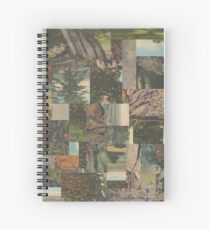 Tree Points Drop Spiral Notebook