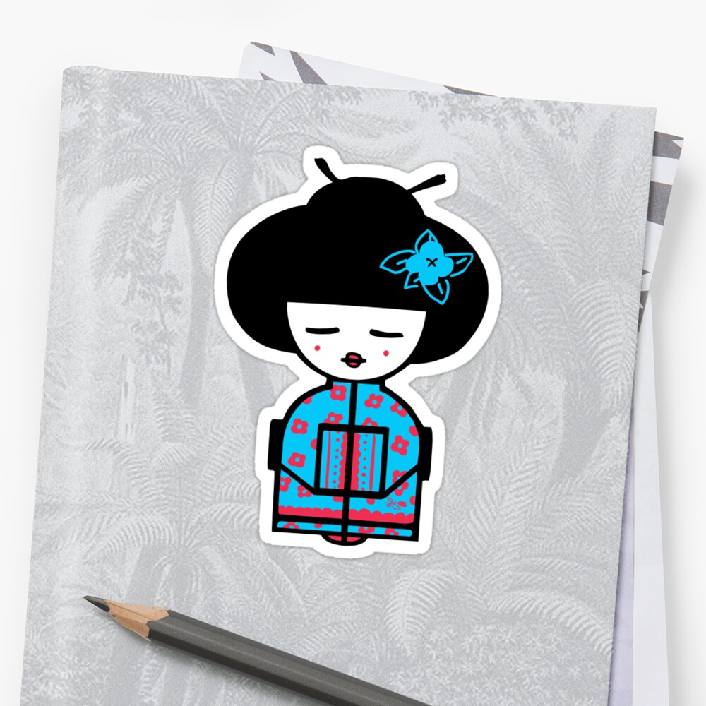 Cyan Chinese by Alicia Design