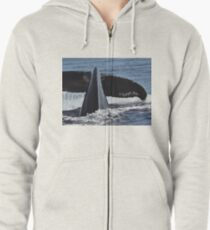 Eternal Moment At Sea Zipped Hoodie