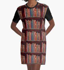 Minibibliothek ~ der klassischen Bücher T-Shirt Kleid
