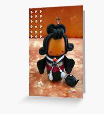 CHUNKIE Geisha Greeting Card