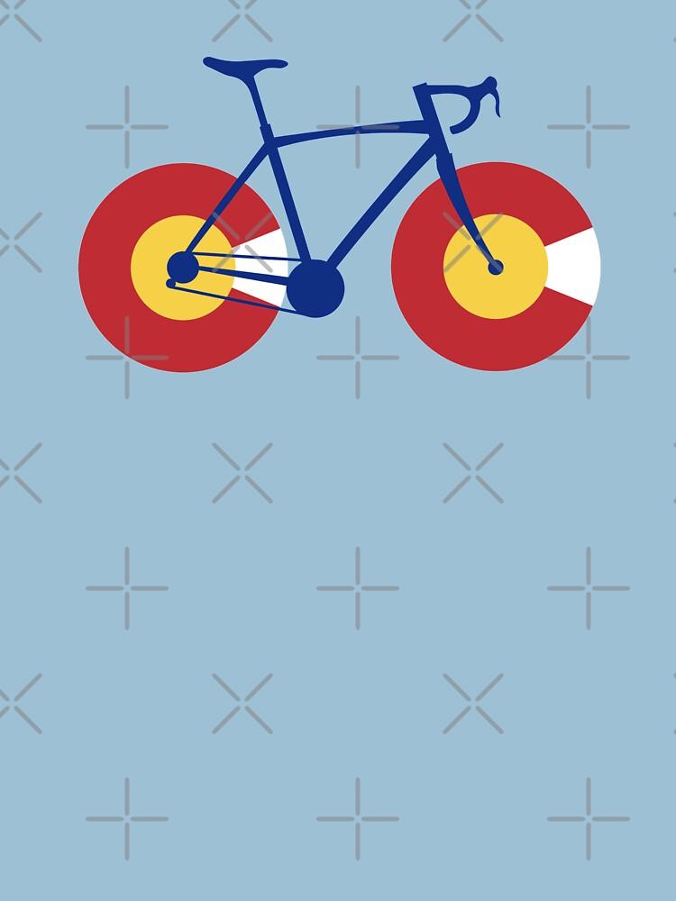 Colorado Flag Bicycle by esskay