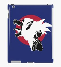 Goku Super mono iPad Case/Skin