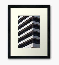 IBM office building detail Framed Print