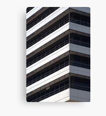 IBM office building detail Canvas Print