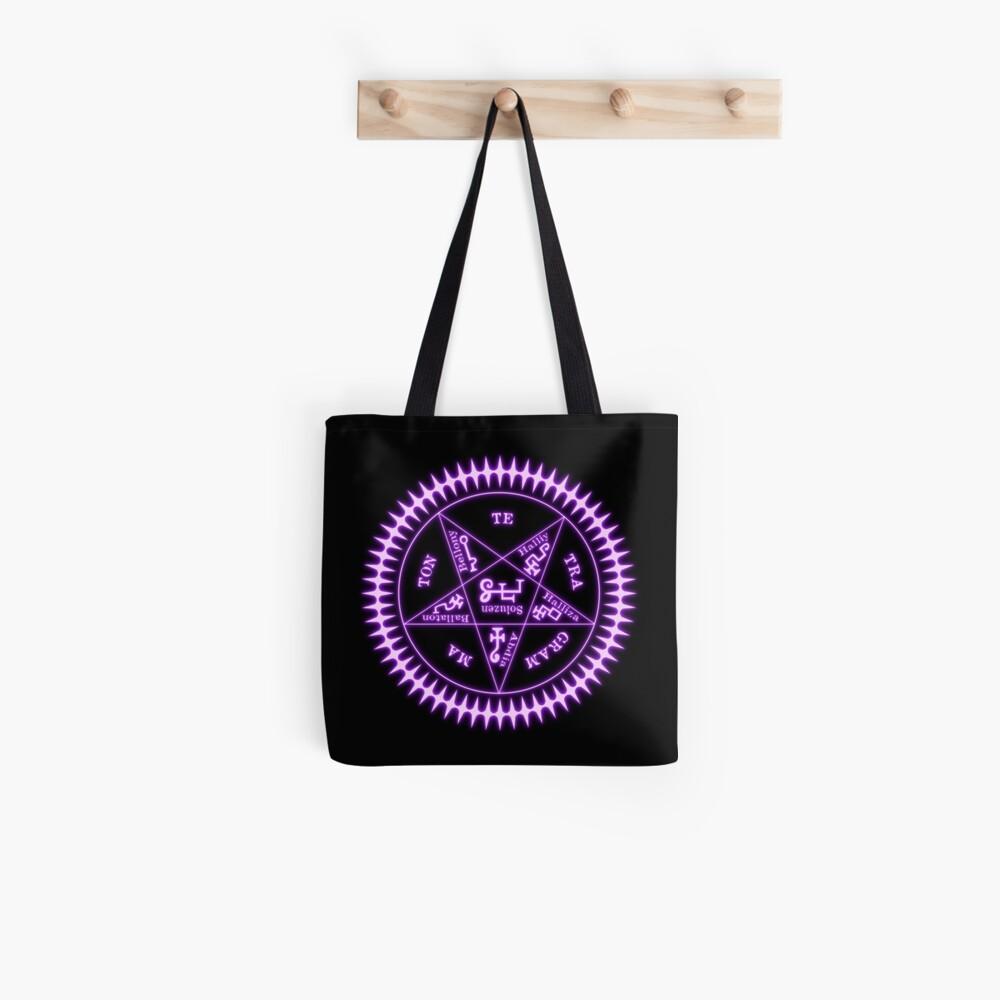 Tetragrammaton Sigil Light Black Bolsa de tela