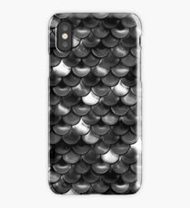 Black and White Scales iPhone Case