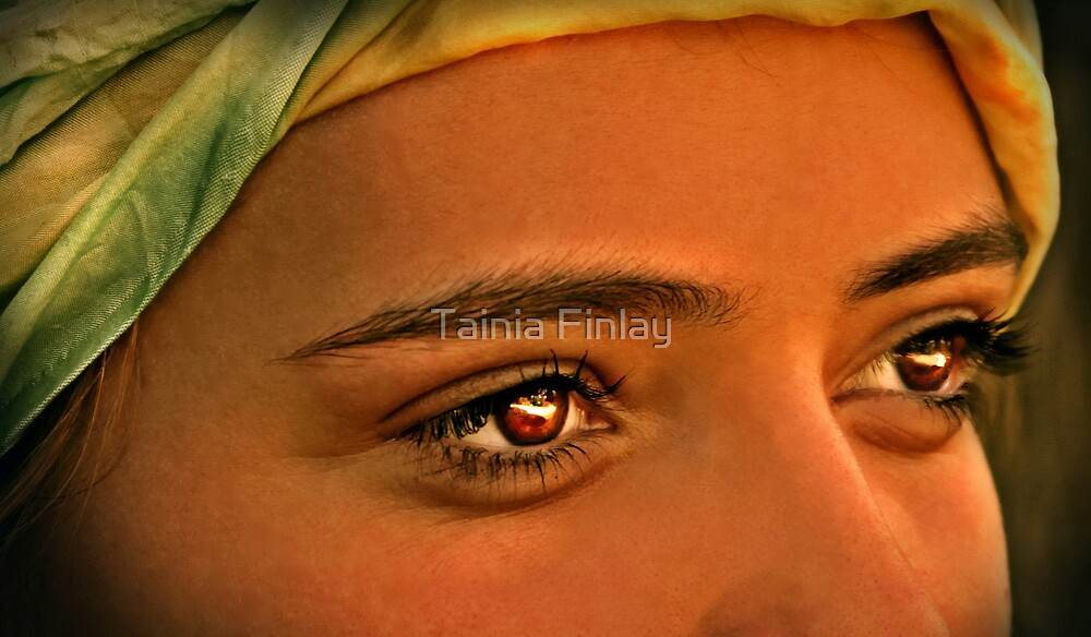 Eyes Wide Open by Tainia Finlay