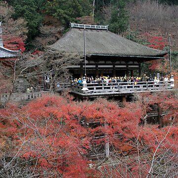 Kiyomizu Temple - Kyoto Japan by dennischoong