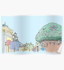 Everland Tree Korea Poster