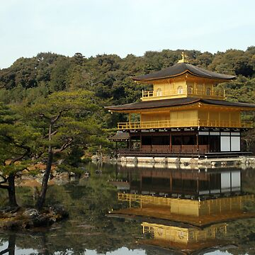 Kyoto - Kinkakuji (Golden Pavilion) by dennischoong