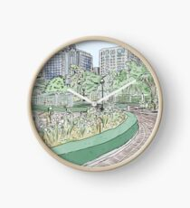 Ilsan Lake Park, Korea Clock