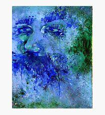 Blueman Photographic Print