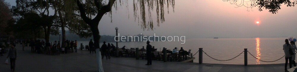 Hangzhou Xi Hu Sunset - China by dennischoong