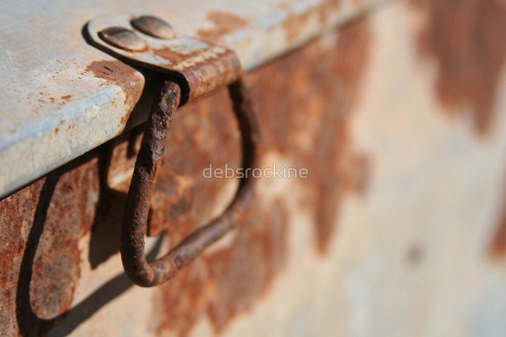 Rusty Handle by debsrockine