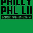 Philly PHL LII Under Dogs as Winners Football by electrovista