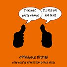 Opposable thumbs by whoiam