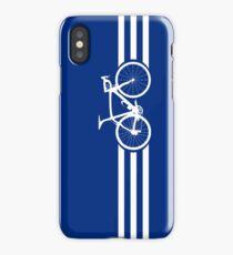 Bike Stripes White x 3 iPhone Case/Skin