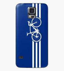 Bike Stripes White x 3 Case/Skin for Samsung Galaxy