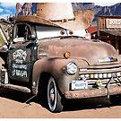 Car Toons - Meet Rusty by Carl Green