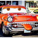 Car Toons - Meet Cindy by Carl Green