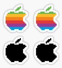 Apple 8-bit Sticker