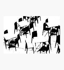 chairs Photographic Print