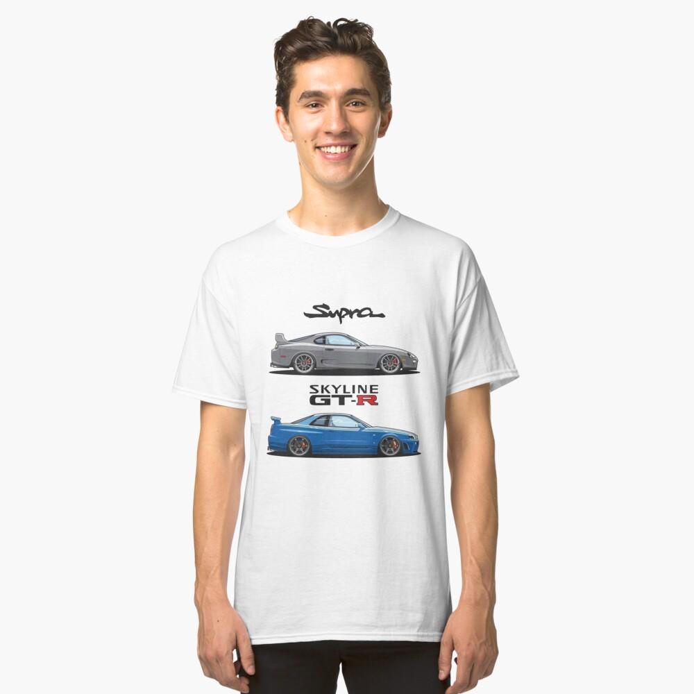 JDM - War Machines (GTR R34 & Supra) Classic T-Shirt