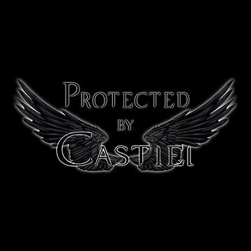 Protected by Castiel Black Wings by Falln