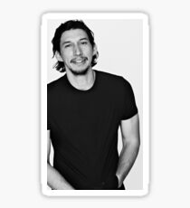 Adam Driver Seductive Sticker