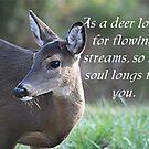 Psalm 42:1 by CardLady