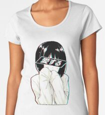 LOVE (Japanisch) - Sad Japanese Aesthetic Frauen Premium T-Shirts