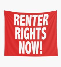 Renter Rights Now Wall Tapestry