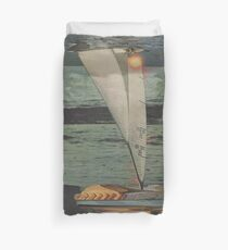 Sun Set Sail Duvet Cover
