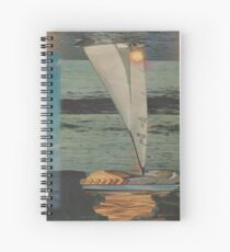Sun Set Sail Spiral Notebook
