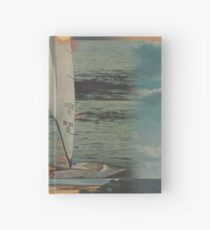 Sun Set Sail Hardcover Journal