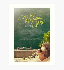Call Me By Your Name Movie Poster Art Print
