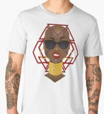 Dora Milaje: Move,or You Will Be Moved (version 1) Men's Premium T-Shirt
