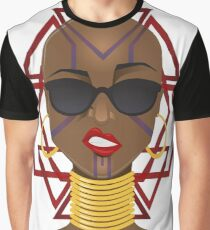 Dora Milaje: Move,or You Will Be Moved (version 1) Graphic T-Shirt