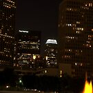 Downtown Los Angeles At Night HDR by Clayton Bruster