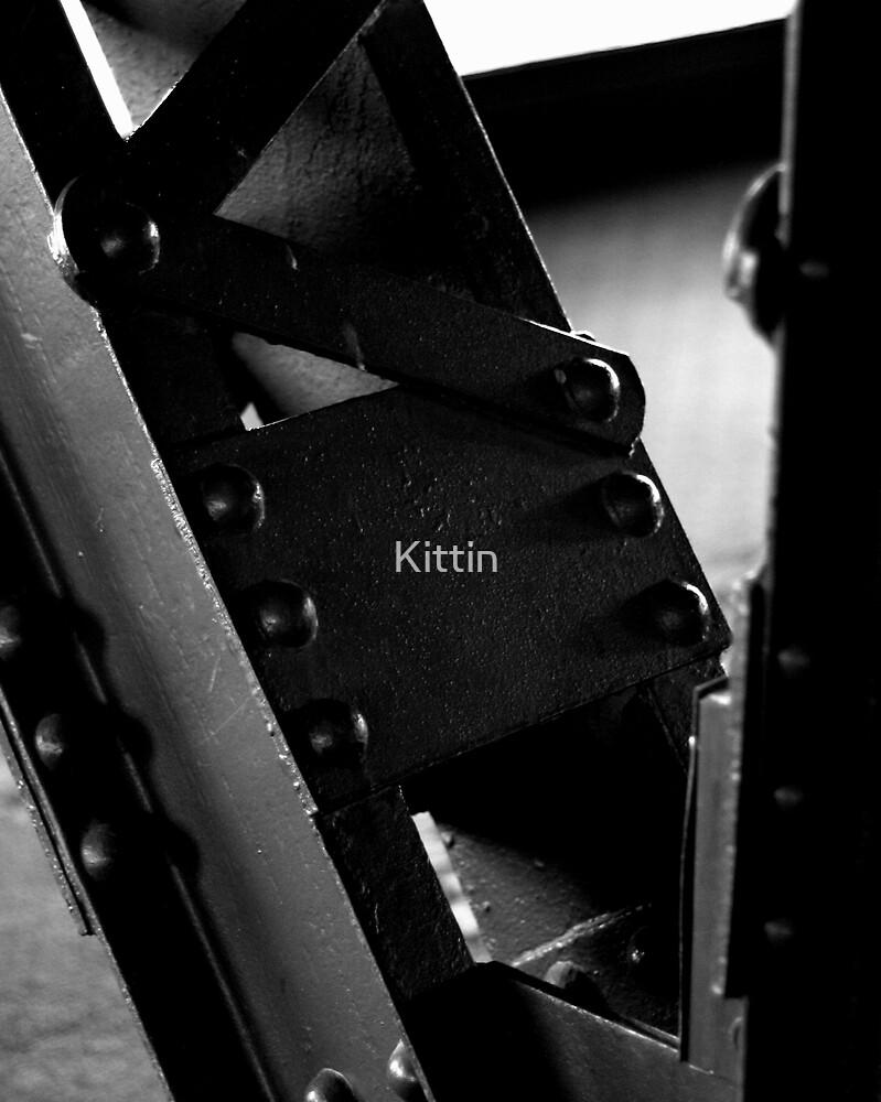 Cross beams by Kittin