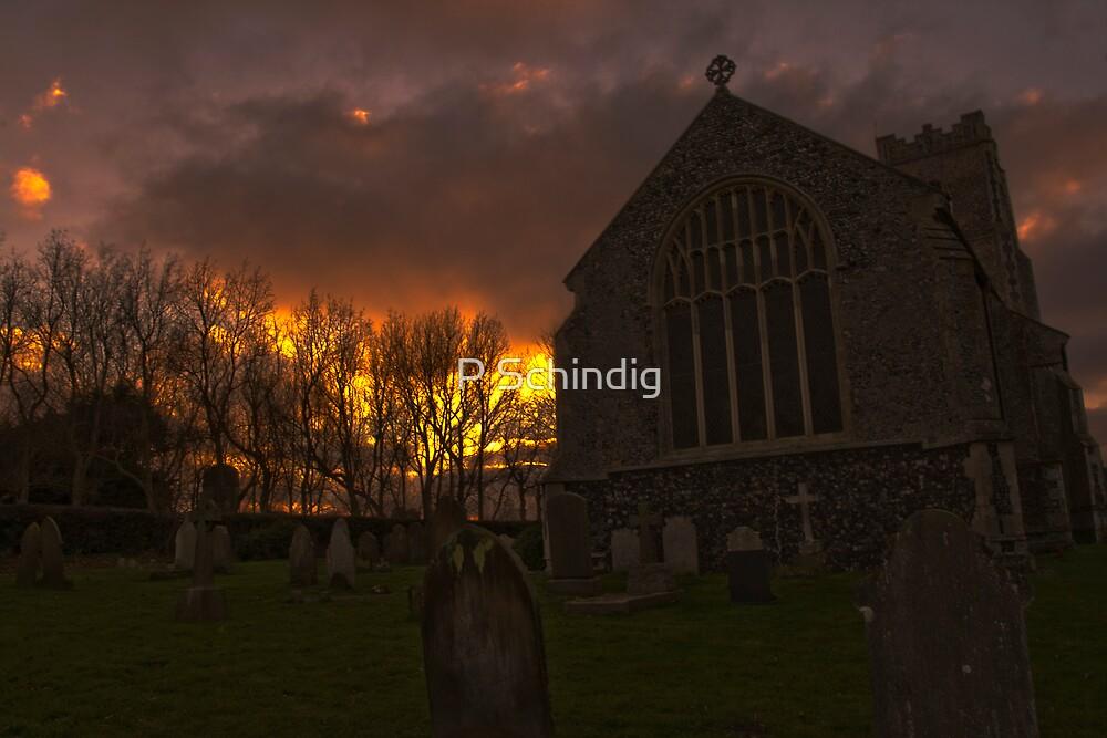Corton Church by P Schindig