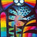 Psychadelic cat  by Karin Zeller