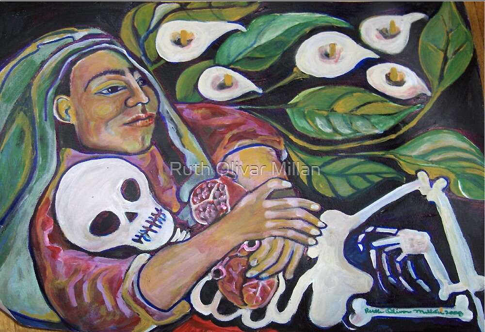 """""""I am Your Mother"""" by Ruth Olivar Millan (Cuca) by Ruth Olivar Millan"""