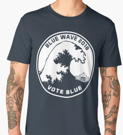 Blue Wave 2018 Vote Blue Men's Premium T-Shirt